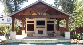 Pavilion and Fireplace