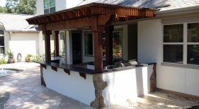 Outdoor Kitchen and Pergola