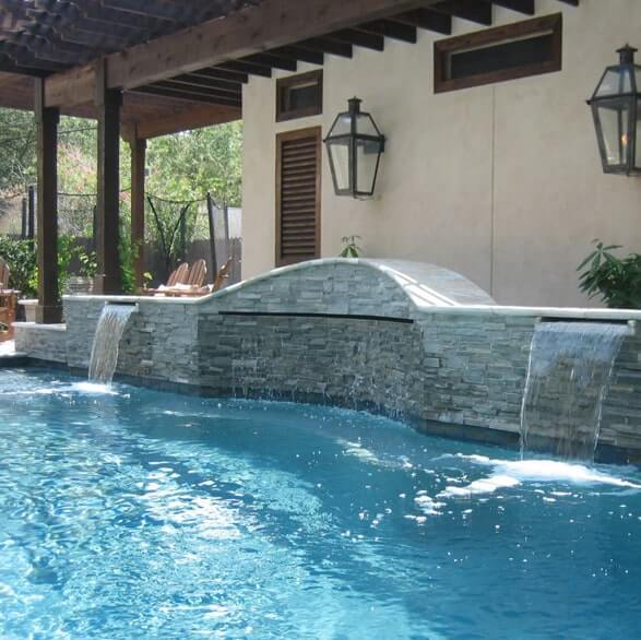 Custom Pool Builder Cypress | Custom Outdoor Living Areas ...