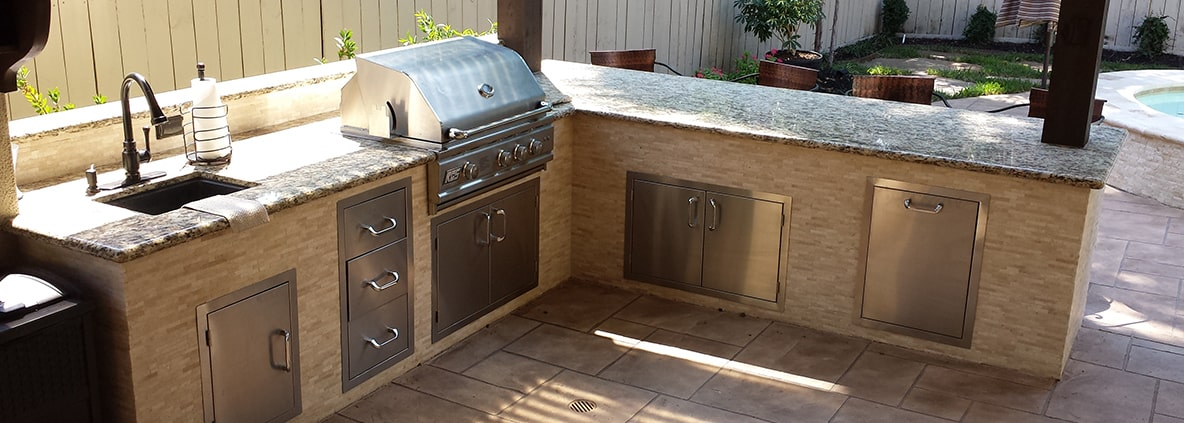 Outdoor Kitchens Cypress | Outdoor Living Area Houston ...